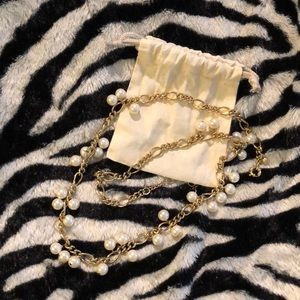 J. Crew - Pearl Long Necklace